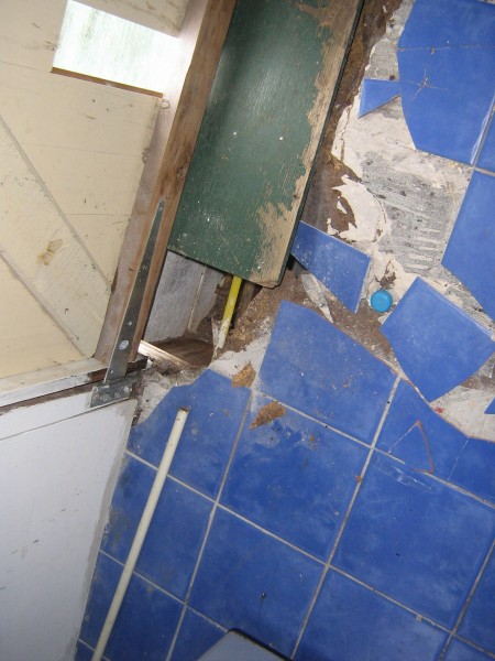 bathroom termites treatment